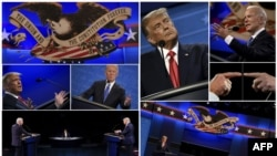 Președintele american Donald Trump și contracandidatul democrat Joe Biden se confruntă în alegerile prezidențiale din 3 noiembrie 2020.