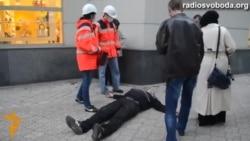 Напад на проукраїнський мітинг у Донецьку