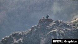 Ադրբեջանցի զինվորականներ Հայաստանի Սյունիքի մարզի սահմանին, արխիվ