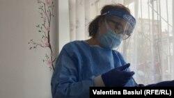 Vaccinarea la Ștefănești, Botoșani, România