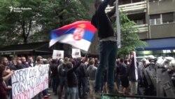 Protest desničara na otvaranju festivala 'Mirëdita, dobar dan!'