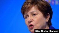 International Monetary Fund (IMF) Managing Director Kristalina Georgieva (file photo)