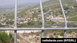 روستای غجر در نزدیکی مزارع شبعا