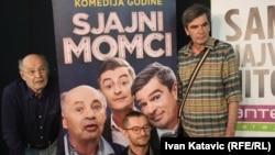 Glumci Mustafa Nadarević, Moamer Kasumović i Senad Bašić