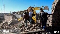 Последствия землетрясения в Иране, 8 ноября 2019 года