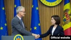 Moldova - Maia Sandu &Christian Danielsson, Chișinău, 16 septembrie 2019