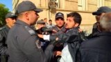 Azerbaijani Police Block Sanctioned Rally