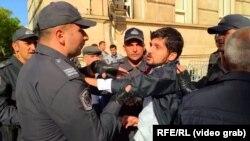 Задержания в Баку 8 октября.