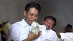 Мэр мексиканского города женился на крокодилице