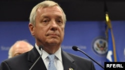 The U.S. senate's number two Democrat, Dick Durbin