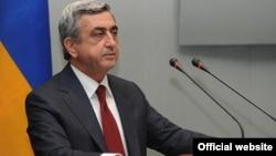 Ermənistan prezidenti Serzh Sargsyan