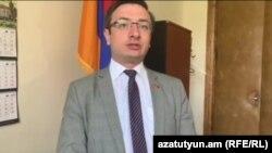 секретарь фракции «Лусавор Айастан» Геворк Горгисян, Ереван, 20 мая 2019 г.