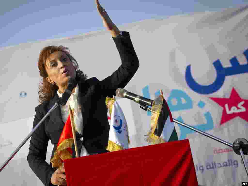 سعاد عبدالرحیم، شخص اول لیست انتخاباتی النهضه