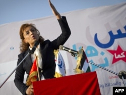 Одна з лідерів туніської партії «Ен-Нагда» Суад Абдаррахім напередодні виборів звертається до громадян