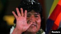 Боливия президенті Эво Моралес.