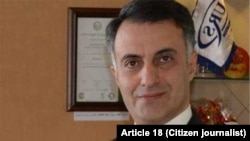 Ali Amini, a Christian convert arrested in Tabriz, northwestern Iran.