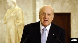 نجیب میقاتی، نخست وزیر لبنان، میگوید پس از ۱۳ ماه موفق شده است دولت جدید لبنان را تشکیل دهد