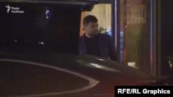 По завершенню зустрічі першим ресторан залишив Андрій Богдан
