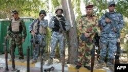 ارتش آمریکا می گوید که محموله کشف شده به تازگی در ایران ساخته شده است.(عکس: AFP)