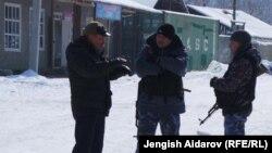 Кыргыз-тажик чек арасы. 5-февраль, 2014-жыл.