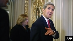 Госсекретарь США Джон Керри выступил накануне голосования перед сенаторами с призывом поддержать соглашение с Ираном