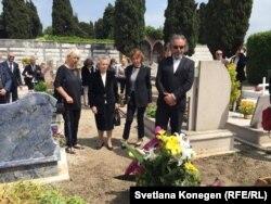 Похороны Витторио Страда прошли 5 мая на кладбище Сан-Микеле в Венеции