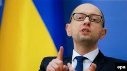 Украина Бош вазири Арсений Яценюк.
