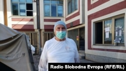 Дебар- Ментор Мела, раководителот на единицата на Заводот за Јавно здравје во Дебар