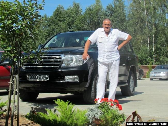 Астравецкі прадпрымальнік Ёсіф Раўдановіч