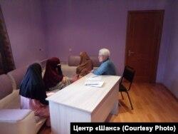 Женщины, возвращенные в Казахстан из Сирии и Ирака, в адаптационном центре в Караганде. Иллюстративное фото.