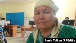 Жаңаөзен тұрғыны Тоқтагүл Исантұрдиева.