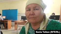 Жительница Жанаозена Токтагуль Исантурдиева. 29 мая 2014 года.