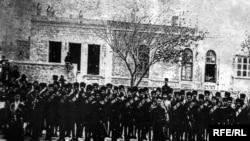 Кавказская тюркско-исламская армия, Баку 1918