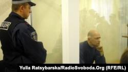 Віктор Сукачов у залі суду