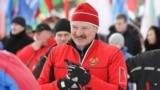 Belarus - Aliaksandar Lukashenka, participating in ski race, Lukashenko, winter