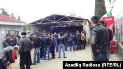 Azərbaycan İran sərhədi. Astara gömrük keçid məntəqəsi (13 mart 2015)