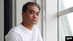 Uyghur activist Ilham Tohti (file photo)