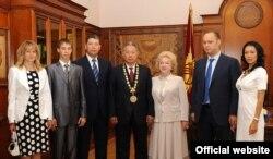 Семья Курманбека Бакиева.