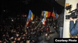 La ora protestelor (foto: Constantin Grigoriță)