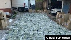 Скопје- акција на македонската полиција за заплена на 200 килограни канабис,10.04.2021