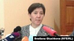 Министр здравоохранения и социального развития Казахстана Тамара Дуйсенова.