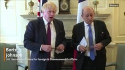 Boris Johnson Meets Le Drian To Discuss Iran Deal