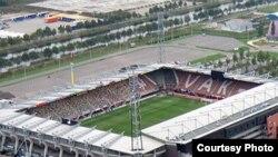Стадион Grolsch Veste в Энсхеде теперь так не выглядит...