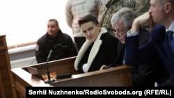 Նադեժդա Սավչենկոն դատարանում, Կիև, 23-ը մարտի, 2018 թ․