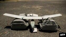 На снимке: американский беспилотный летательный аппарат