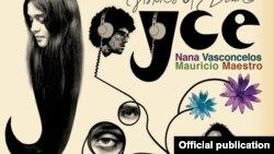 "Detaliu de pe coperta albumului ""Visions of Dawn"", Joyce Moreno, Naná Vasconcelos, Mauricio Maestro, 1976."