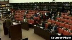 Седница на Собраниската комисија за финансирање и буџет.