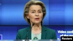 Avropa Komissiyasının prezidenti Ursula von der Leyen