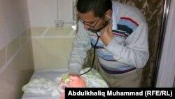 В городе Рамади многие врачи открыли приём пациентов у себя дома - в связи с боями. 10 января 2014 г.