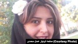 عسل محمدی، فعال دانشجویی و عضو تحریریه نشریه گام، که در ارتباط با اعتصاب کارگران نیشکر هفتتپه حدود یک ماه زندانی بود.